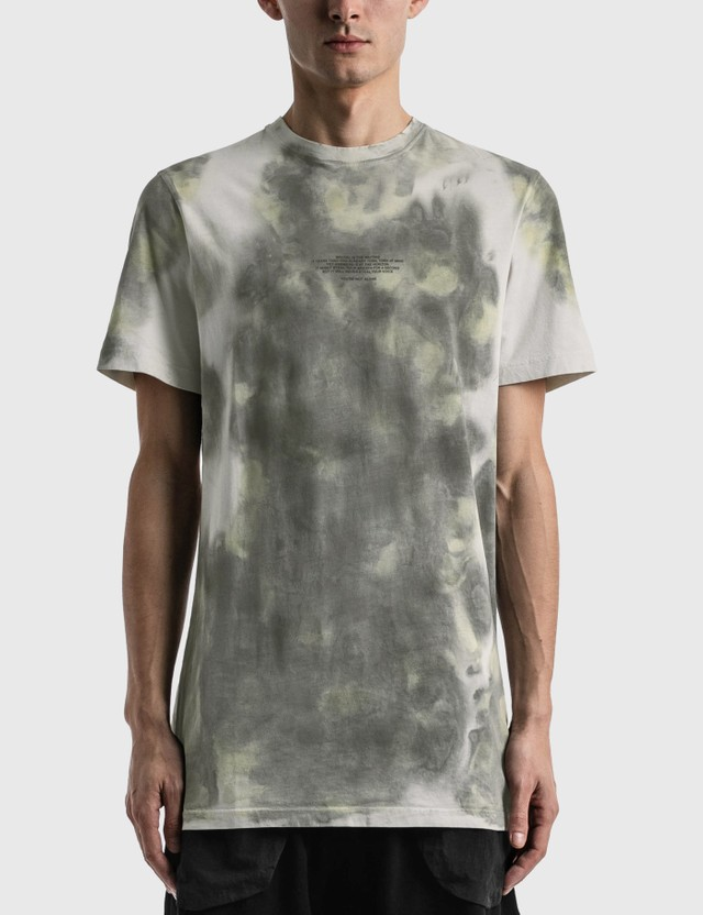 Tobias Birk Nielsen Serigraphy Print T-shirt Instinct Off White Sand Sd Men