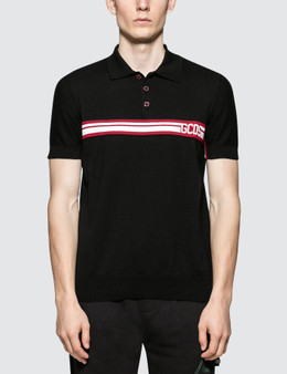 GCDS Logo Band Polo