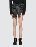 Alexander Wang Skort with Sleeve Ties Picture