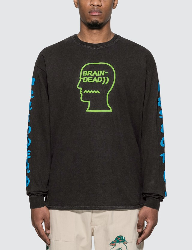 Brain Dead Vehicle Long Sleeve T-shirt