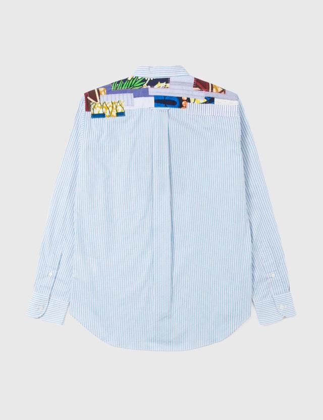 Junya Watanabe Junya Watanabe Patchwork Shirt Blue Archives