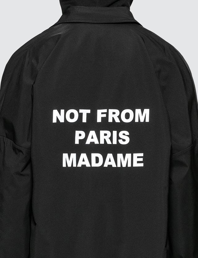 Drôle de Monsieur NFPM Collared Long Raincoat
