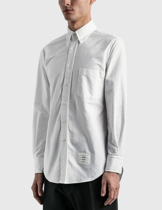 Thom Browne Classic Oxford Shirt White Men