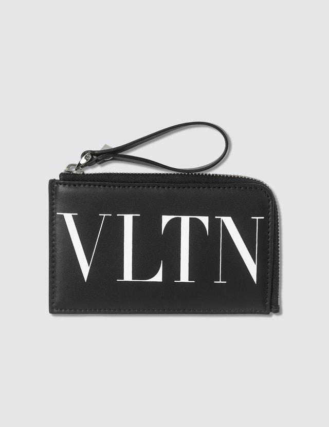 Valentino VLTN Zip Card Holder