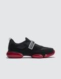Prada Cloud Bust Contrast Velcro Sneaker Picture