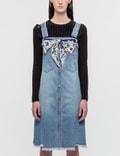 SJYP Button Front Denim Dress Picture