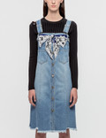 SJYP Button Front Denim Dress Picture