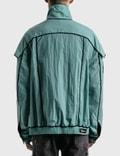 We11done Mint Velvet Lining Bomber Jacket Mint Men