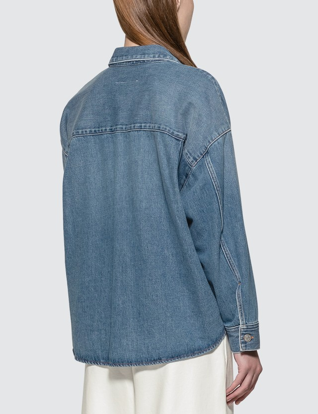 MM6 Maison Margiela Oversized Denim Jacket