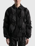 KANGHYUK Airbag Whole Body-guarded Bomber Jacket Picutre