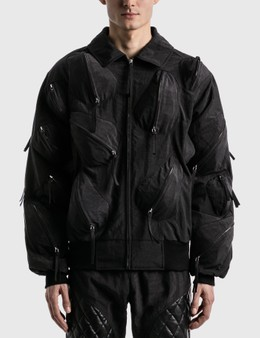KANGHYUK Airbag Whole Body-guarded Bomber Jacket