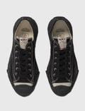Maison Mihara Yasuhiro Original Sole Toe Cap Canvas Low Cut Sneaker Black Men