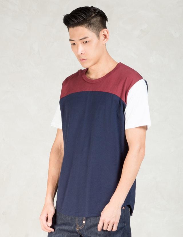 Aloye Red Round Bottom S/s T-shirt
