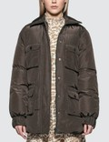 Ganni Printed Tech Down Jacket Picture
