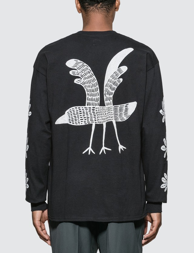 Sasquatchfabrix. Crow Long Sleeve T-shirt