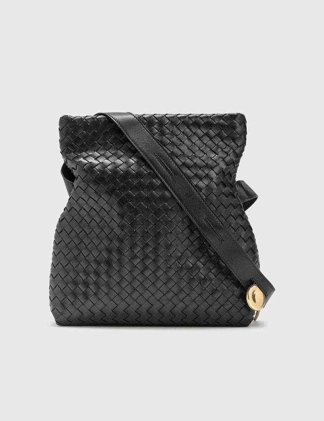 Bottega Veneta The Fold Black-gold Women