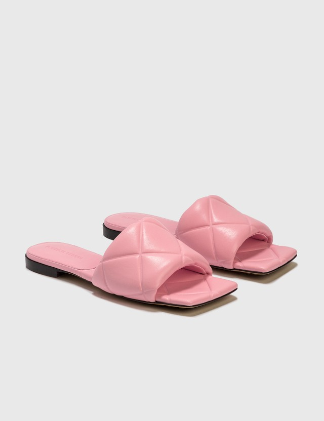 Bottega Veneta The Rubber Lido Flat Sandals Blossom Women