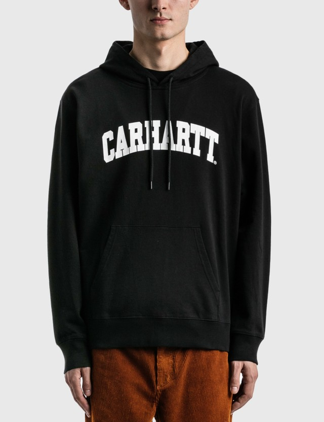 Carhartt Work In Progress University Hoodie Black / White Men