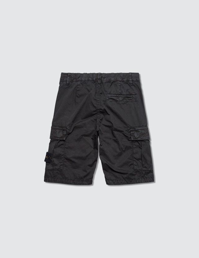 Stone Island Compass Badge Cargo Kids Shorts