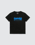 Thrasher Blue Flame Kids T-Shirt Picture