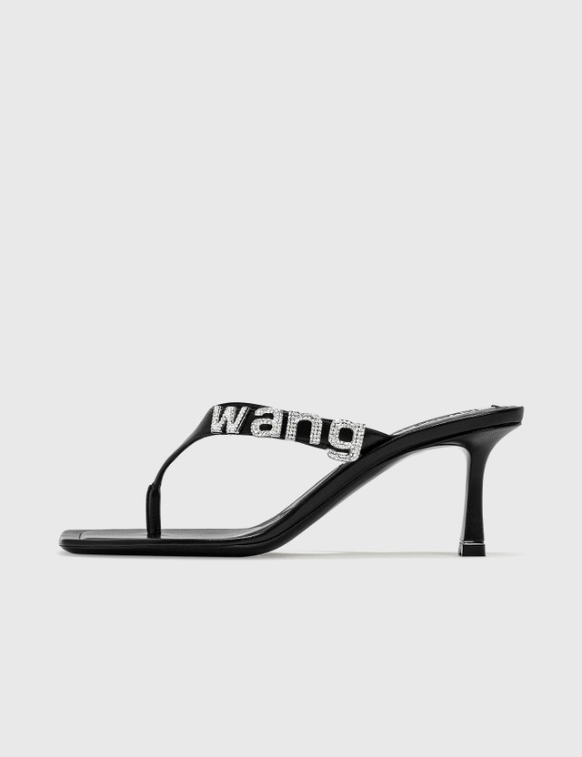 Alexander Wang Ivy Logo Thong Sandal