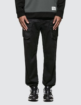 White Mountaineering Twill Stretched Tapered Cargo Pants