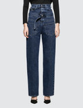 Diesel Red Tag Embedded Belt Jeans Picutre