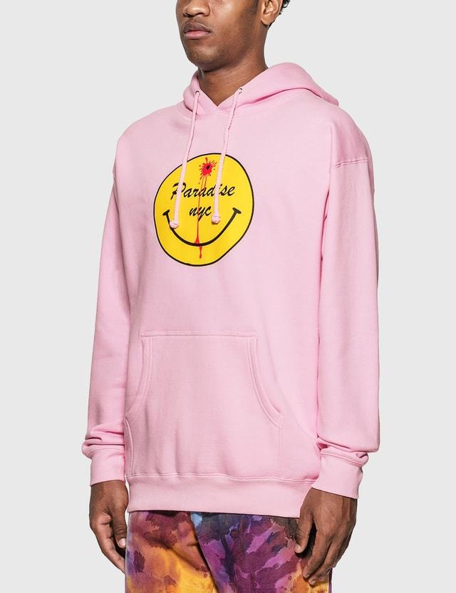 Paradise NYC Dead Smiley Hoodie Pink Men