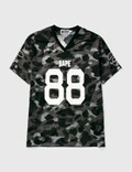 BAPE Bape Football Mesh Ss T-shirt Picture