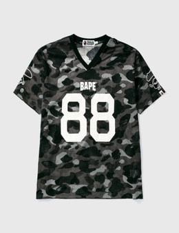 BAPE Bape Football Mesh Ss T-shirt