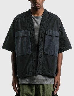 Nemen Short Sleeve Cargo Kimono