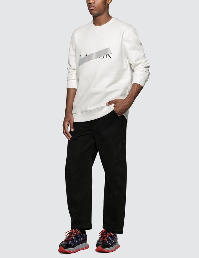 Lanvin Barre Print Sweatshirt