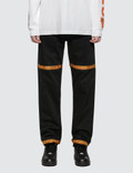 Heron Preston Tape 5-Pockets Denim Pants Picture