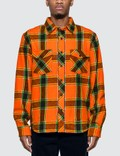 Stussy Ace Plaid Long Sleeve Shirt Picutre