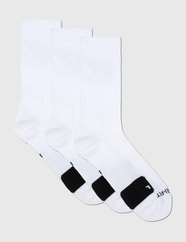 Nike 3pack Everyday Crew Socks White/black Men