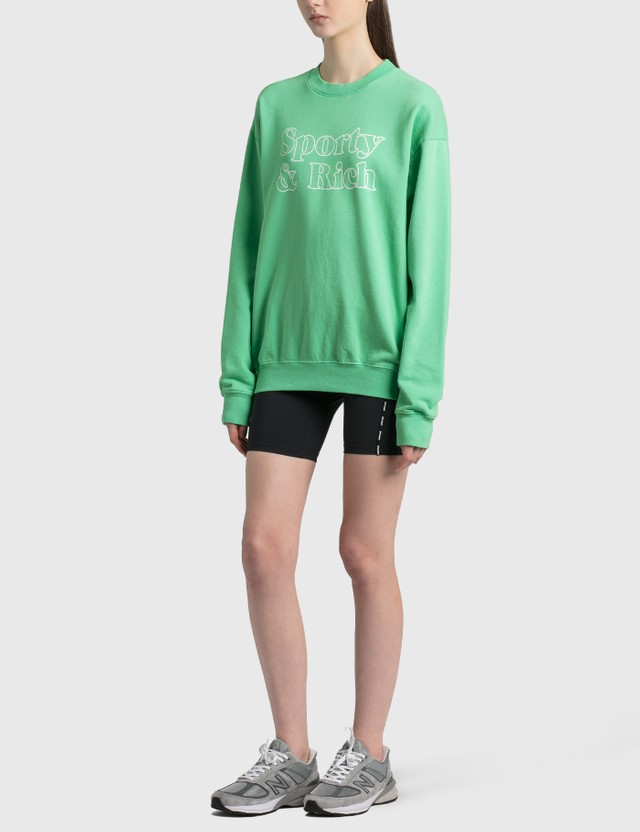 Sporty & Rich Fun Logo Crewneck