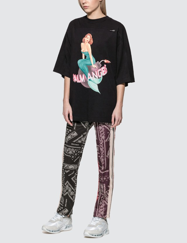 Palm Angels Mermaid Logo Oversized T-shirt