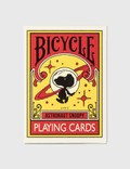 Freshthings Medicom Toy Peanuts Astronaut Snoopy X Bicycle Playing Cards Picutre