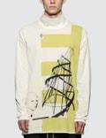 Rick Owens Drkshdw Tatlin's Tower Print L/S T-Shirt Picture