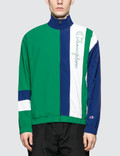 Champion Reverse Weave Striped Panel Track Jacket Picutre