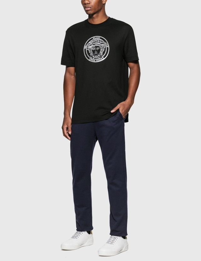 Versace Medusa T-Shirt Nero Men
