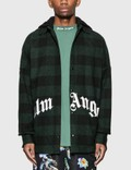 Palm Angels Hooded Logo Overshirt Picutre