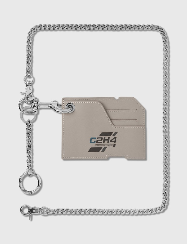 C2H4 Los Angeles Company Logo Cardholder