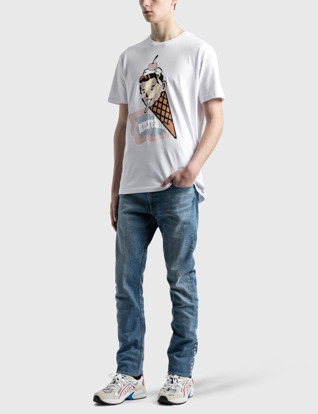 Icecream 플래그 티셔츠 White Men