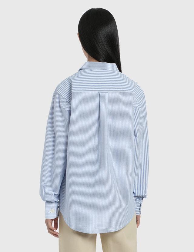 Stussy Big Button Oxford Long Sleeve Shirt