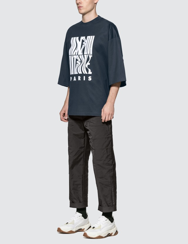 Maison Kitsune Wavy MK Oversized T-Shirt