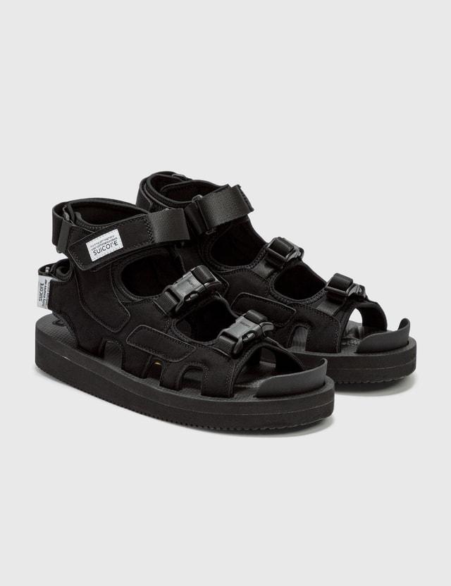 Suicoke BOAK-V Sandals Black Women