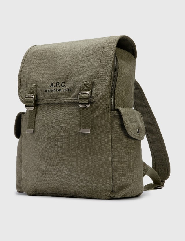A.P.C. Recuperation Backpack Khaki Men