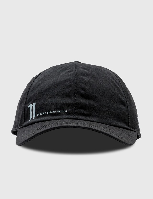11 By Boris Bidjan Saberi Gore-Tex Logo Cap Black Men