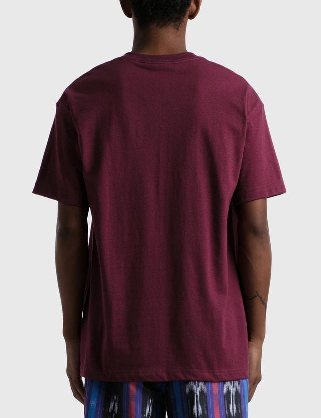 Pizza Skateboards Climate T-shirt Burgundy Men